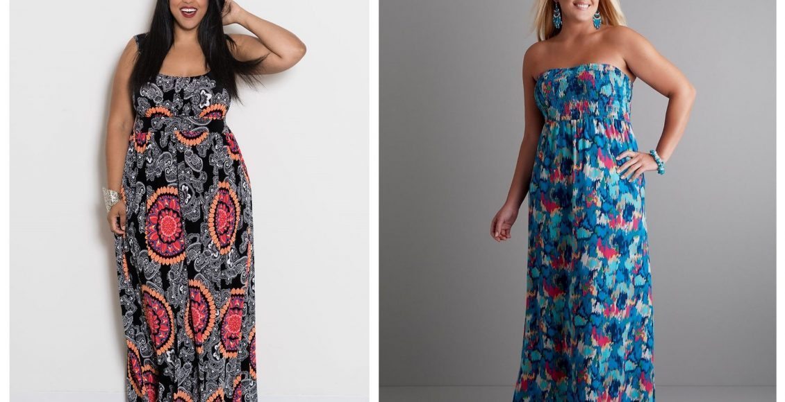 Are You Looking For a Really Lovely Plus Size Maxi Dress?